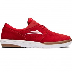 Lakai Freemont Shoes - Red Suede