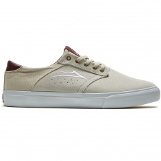 Lakai Porter Shoes - White Suede
