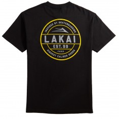 Lakai Caliber T-Shirt - Black