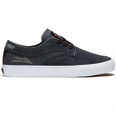 Lakai Riley Hawk X Indy Shoes - Charcoal Suede