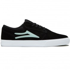 Lakai Griffin Shoes - Black/Mint Suede