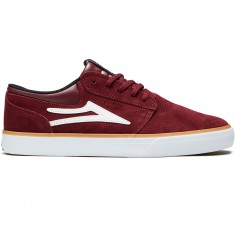 Lakai Griffin Shoes - Burgundy Suede
