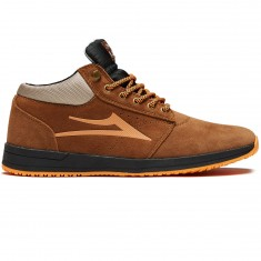 Lakai Griffin Mid WT Shoes - Nutmeg Suede