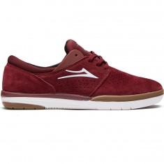 Lakai Freemont Shoes - Burgundy Suede
