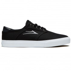 Lakai Porter Shoes - Black Canvas/White