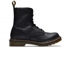 Dr. Martens Womens 1460 8 Eye Pascal Leather Boots - Black