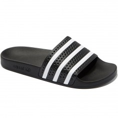 Adidas Adilette Slides - Black/White