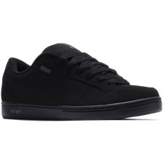 Etnies Kingpin Shoes - Black/Black