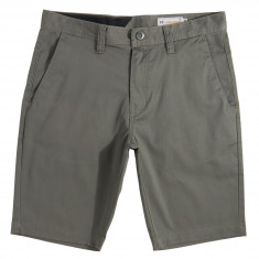 Volcom Frickin Modern Stretch Shorts - Dusty Green
