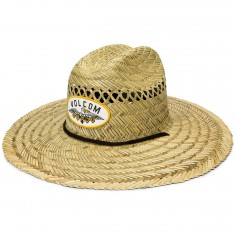 Volcom Hellican Straw Hat - Natural