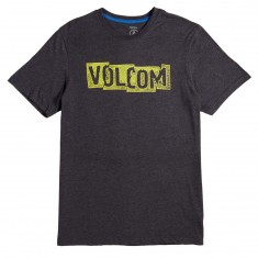 Volcom Edge T-Shirt - Heather Black