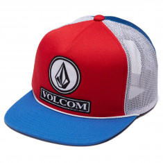 Volcom Dually Cheese Hat - Motorhead Red