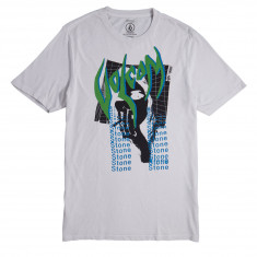 Volcom Smoke Grid T-Shirt - Off White