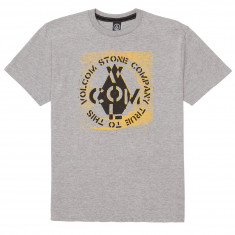 Volcom Cage T-Shirt - Heather Grey