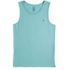Volcom Solid Heather Tank Top - Turquoise