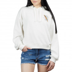 Volcom Womens Knew Wave Hoodie - Star White