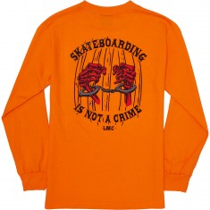 Loser Machine Crime Long Sleeve T-Shirt - Orange