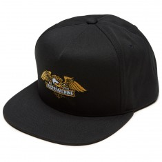Loser Machine Wings Snapback Hat - Black
