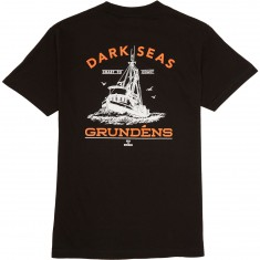 Dark Seas X Grundens Tuna Tower Pocket T-Shirt - Black