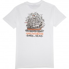 Dark Seas X Grundens Ink And Iron T-Shirt - White