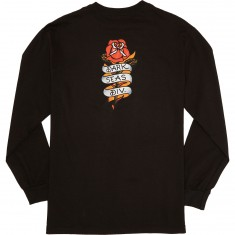 Dark Seas Amor Long Sleeve T-Shirt - Black