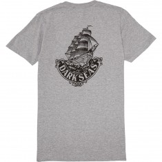 Dark Seas Maven II T-Shirt - Heather Grey