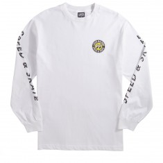 Loser Machine X Mooneyes Overdrive Longsleeve T-Shirt - White