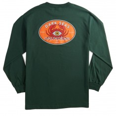 Dark Seas X Grundens Expedition Longsleeve T-Shirt - Forest Green