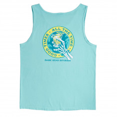 Dark Seas Lounge Time Tank Top - Chalky Mint
