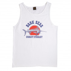 Dark Seas Quest Tank Top - White