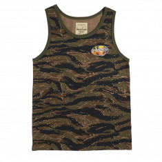Dark Seas Good Days Tank Top - Tiger Camo