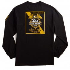 Loser Machine X PBR Established Long Sleeve T-Shirt - Black