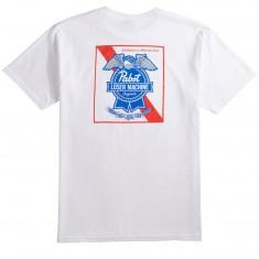 Loser Machine X PBR Condor And Ribbon T-Shirt - White