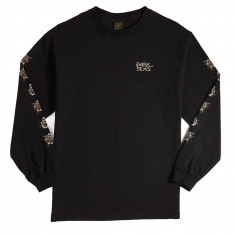Dark Seas Black Rose Long Sleeve T-Shirt - Black