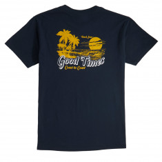 Dark Seas Hideaway T-Shirt - Navy