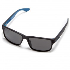 Dragon Count Sunglasses - Matte Black/Blue/Grey