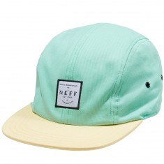 Neff Recreation Camper Hat - Teal/Banana