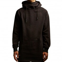 Neff Veil Shredder Hoodie - Black Heather