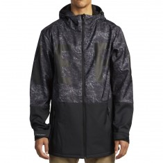 Neff Daily Soft Shell Jacket - Chiller Black