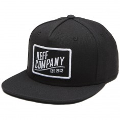 Neff Station 2 Hat - Black/Black