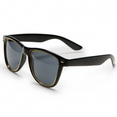 Neff Daily Inlay Sunglasses - Black/Gold
