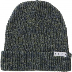 Neff Fold Heather Beanie - Olive/Navy