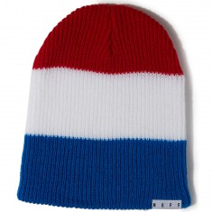 Neff Trio Beanie - Red/White/Blue