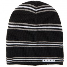 Neff Daily Stripe Beanie - Black/Grey/White