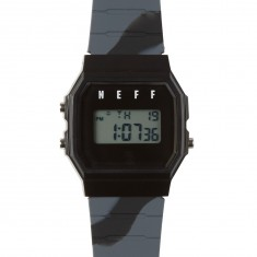 Neff Flava Xl Watch - Black/Charcoal