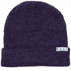 Neff Fold Heather Beanie - Purple/Black