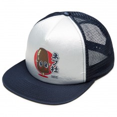 Neff Brazo Trucker Hat - White/Navy