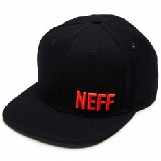 Neff Daily Perf Hat - Black/Infrared