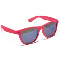 Neff Daily Sunglasses - Magenta Rubber