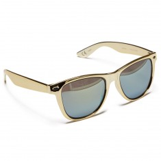 Neff Daily Inlay Sunglasses - Gold/Black/Gold